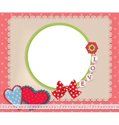Background love vector