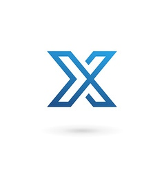 Letter x logo icon design template elements vector