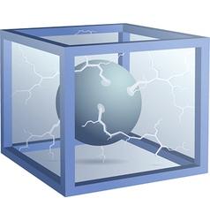 3d cube vector