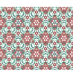 Oriental seamless geometrical background vector