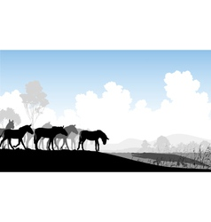 Watering hole vector