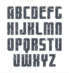 Sans serif font sport vector
