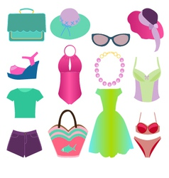 Summer fashion 2 38 vector