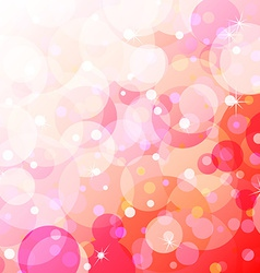 Bubbly fun over gradient background vector