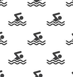 Swim seamless pattern vector