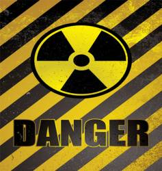 Danger poster vector