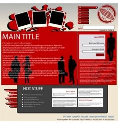 Digital magazine vector