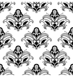 Ornate floral persian seamless pattern vector