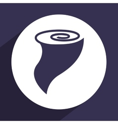 Twister icon vector