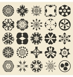 25 design element set twenty five sample object vector