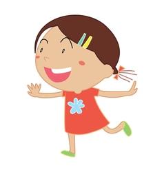 Simple child cartoon vector