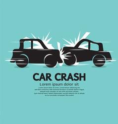 Car crash vector