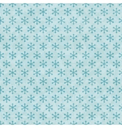 Christmas snowflakes pattern seamless vector