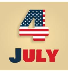 4 july amerika vector