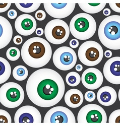Simple color eyes pattern eps10 vector