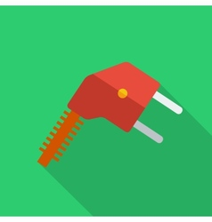Modern flat design concept icon electrical plug vector