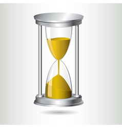Hourglass timer vector