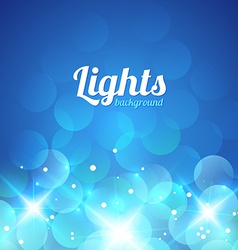 Blue violet bokeh abstract light background vector