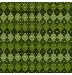 Seamless argyle pattern vector