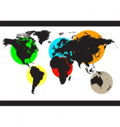 World color background vector