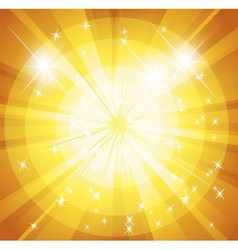 Star burst and sunbeam background vector