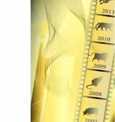 Film astrology vector