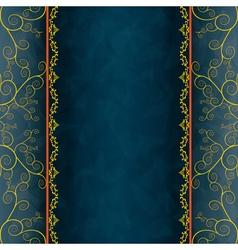 Vintage background for invitation menu cover vector