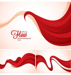 Flow abstract background vector