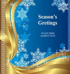 Christmas greetings vector