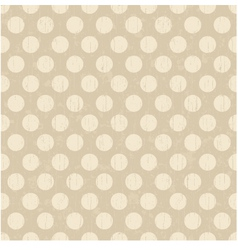 Seamless polka dots pattern vector