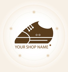 Sneakers label for your shop vector