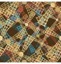 Windmills pattern vector
