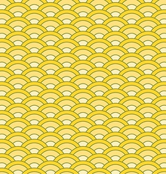 Japanese waves seamless pattern vector