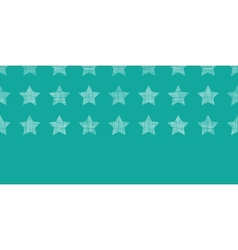 Stars textile textured green horizontal seamless vector