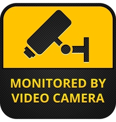 Cctv pictograms web button eps 8 vector