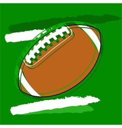 Stylized football vector
