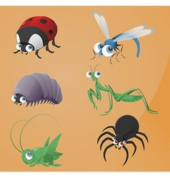 Bugs icons vector