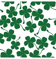 Clover pattern vector