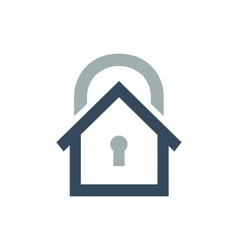 House security logo or icon vector