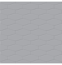 The gray paving stone seamless vector