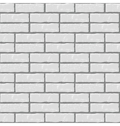 Seamless background of the brick wall vector