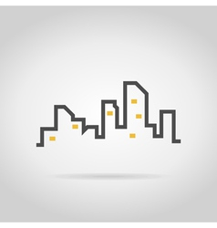 Abstract city2 vector