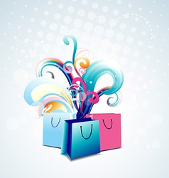 Bag design vector