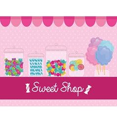 Sweet shop vector