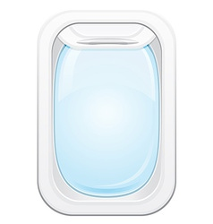 Plane porthole 01 vector