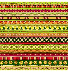 Original tribal doddle ethnic pattern vector