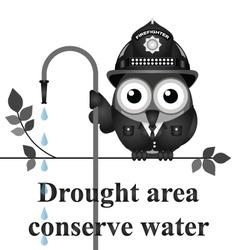 Drought area vector