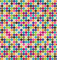 Circle abstract pattern vector