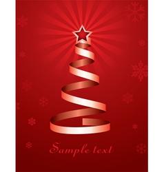 Christmas holiday tree vector
