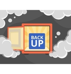 Information recovery and data backup vector